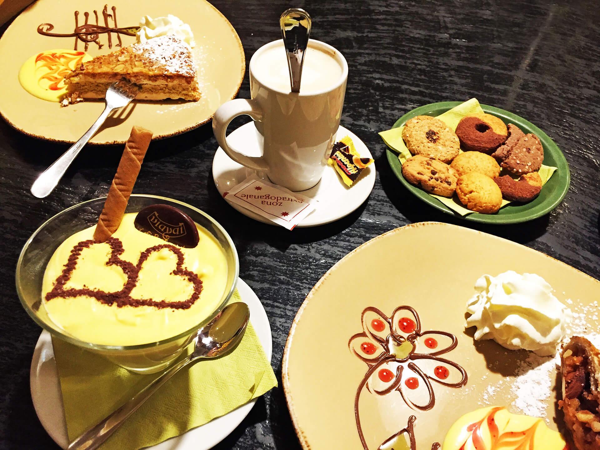 Cukrárna v Livignu