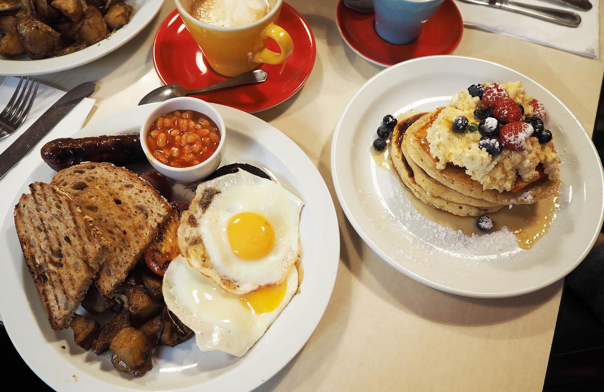 Snídaně v Londýně Breakfast Club